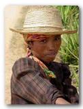 Galerie photos, portrait d'une paysanne de Ampefy (copyright manoirrouge.com